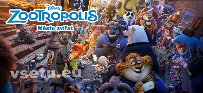 Online film ke stažení - Zootropolis: Město zvířat